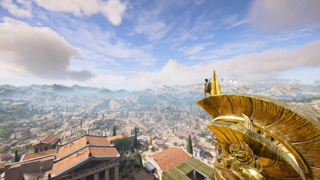Assassin's Creed Odyssey | View over Athens