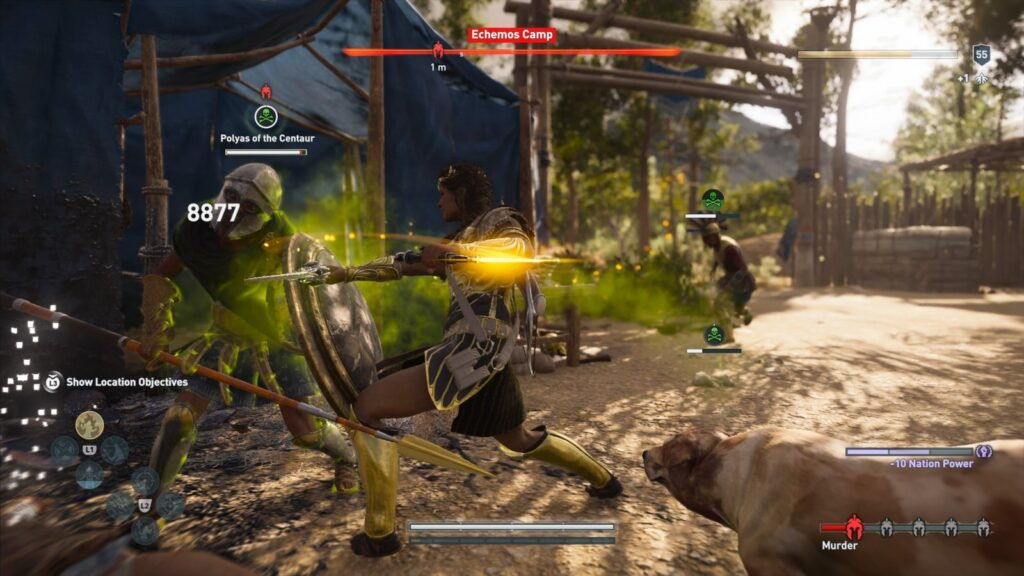 Assassin's Creed Odyssey   Overpower Attack