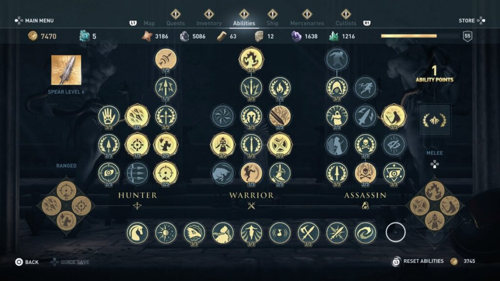 Assassin's Creed Odyssey | Skill Tree