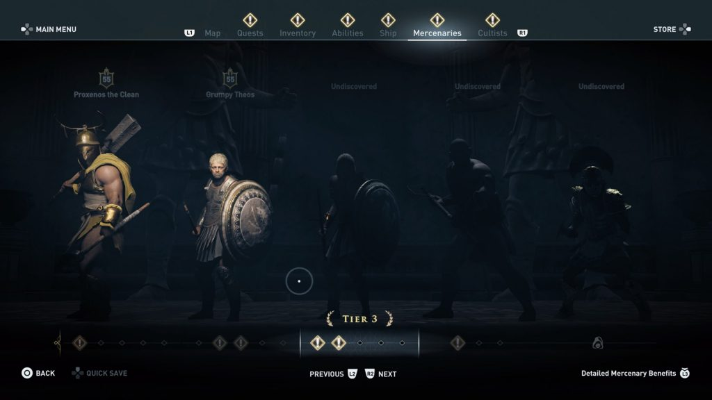 Assassin's Creed Odyssey | Mercenaries
