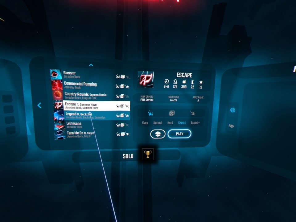 Beat Saber | Music Selection