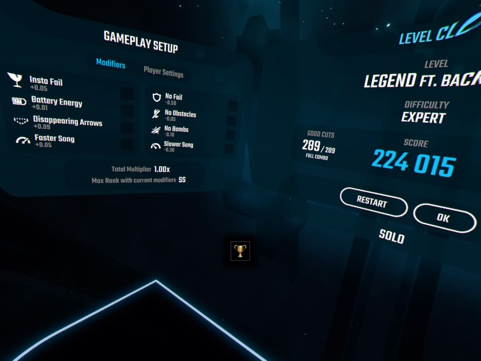 Beat Saber | Flawless trophy Screenshot