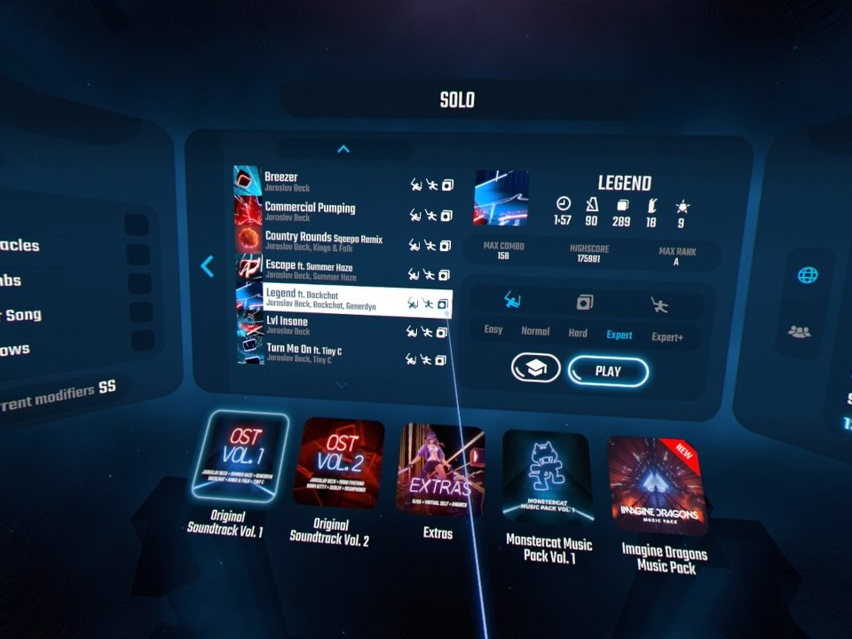 Beat Saber | UI Update