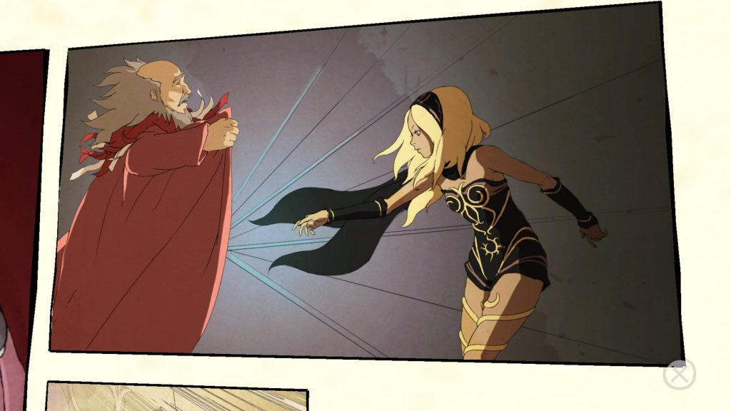 Gravity Rush Remastered | Comic Panel