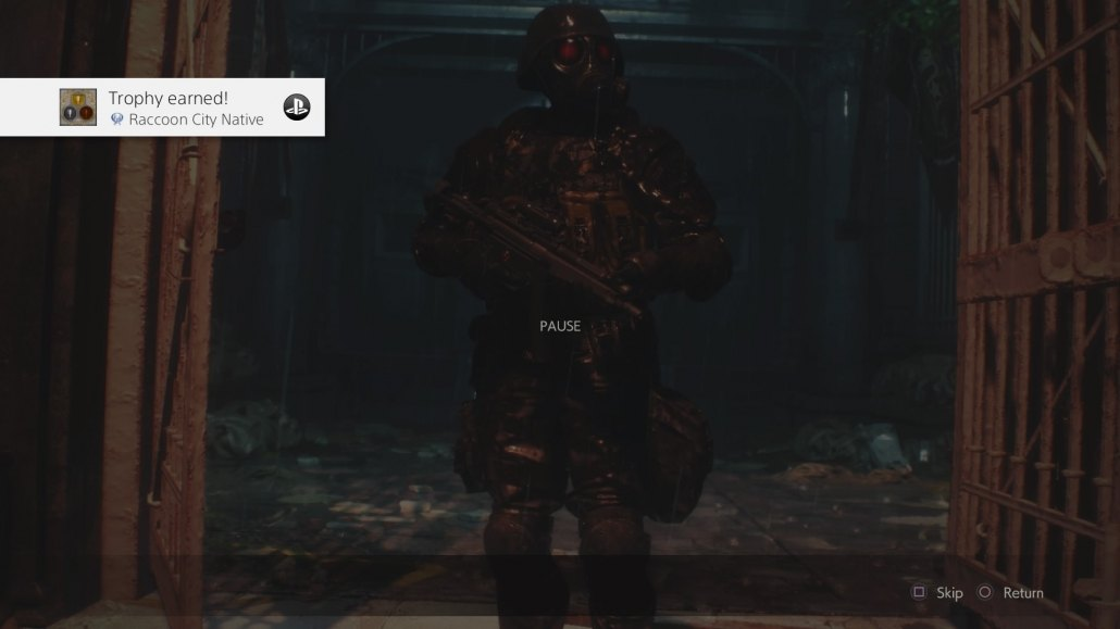 Resident Evil 2 | Platinum Trophy Screenshot
