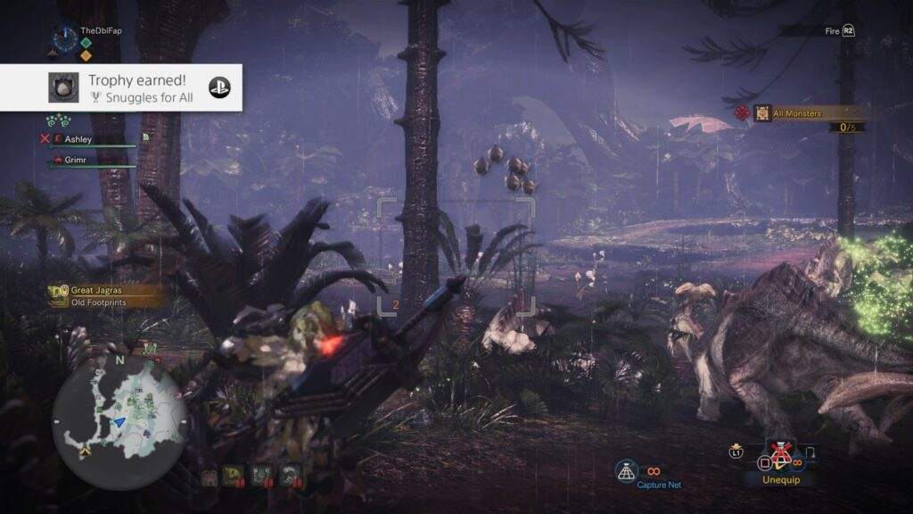 Monster Hunter: World | Snuggles for all Trophy Downy Crake Location