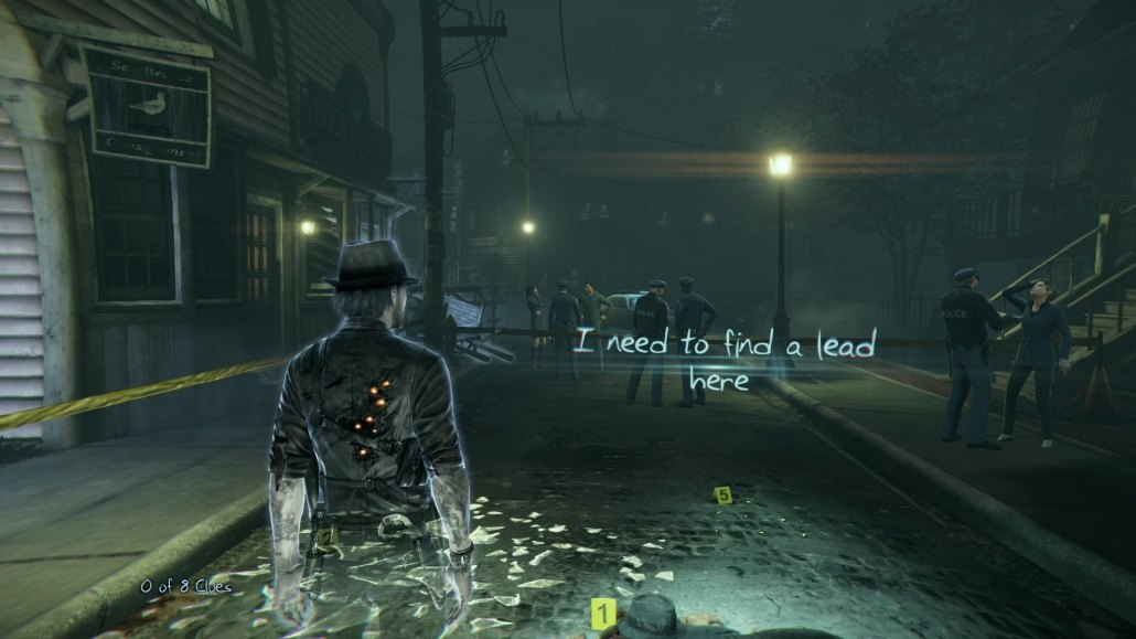 Murdered: Soul Suspect | Ronan as a brand new ghost