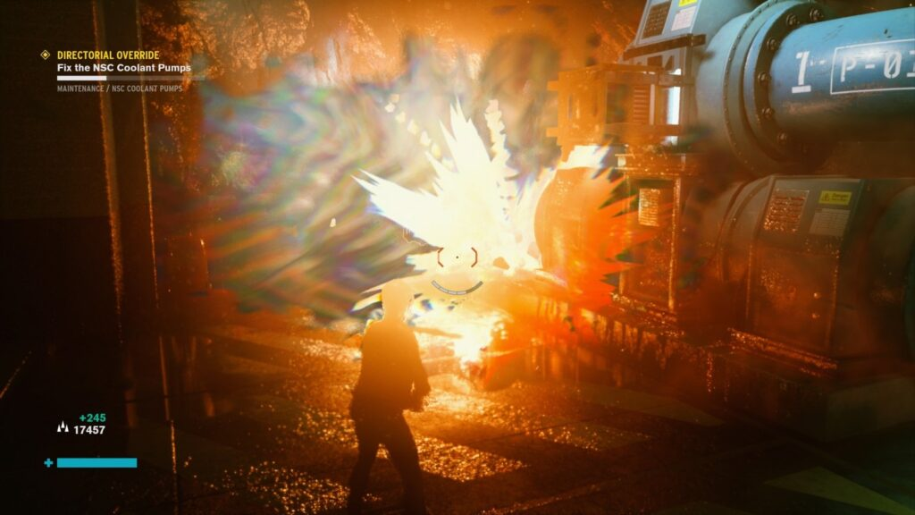 Control Explosion effects fx