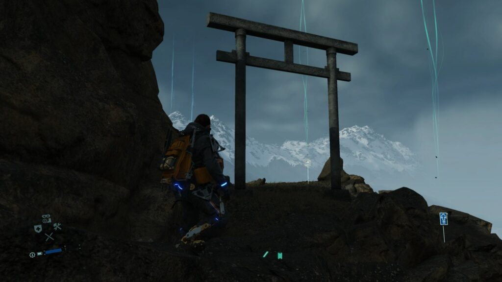Death Stranding torii mountain memory chip