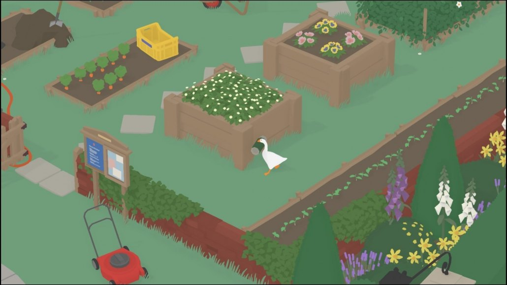 Untitled Goose Game | Groundkeeper's Graden