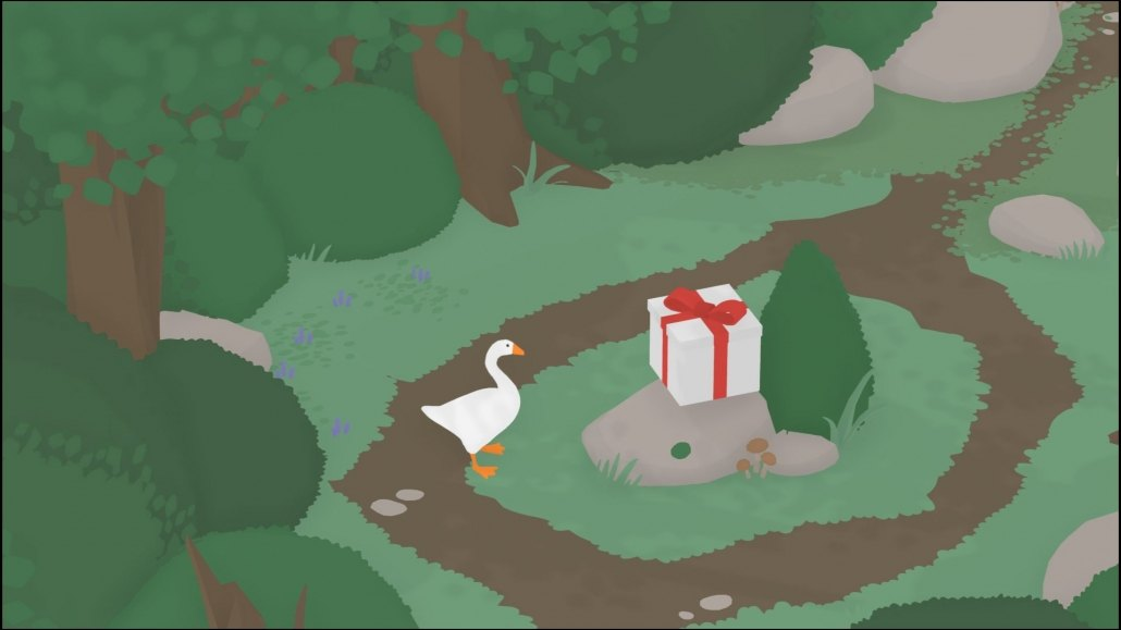 Untitled Goose Game | Mysterious Gift