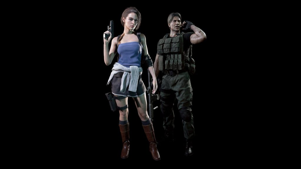 RE3 Demo Preorder Outfits