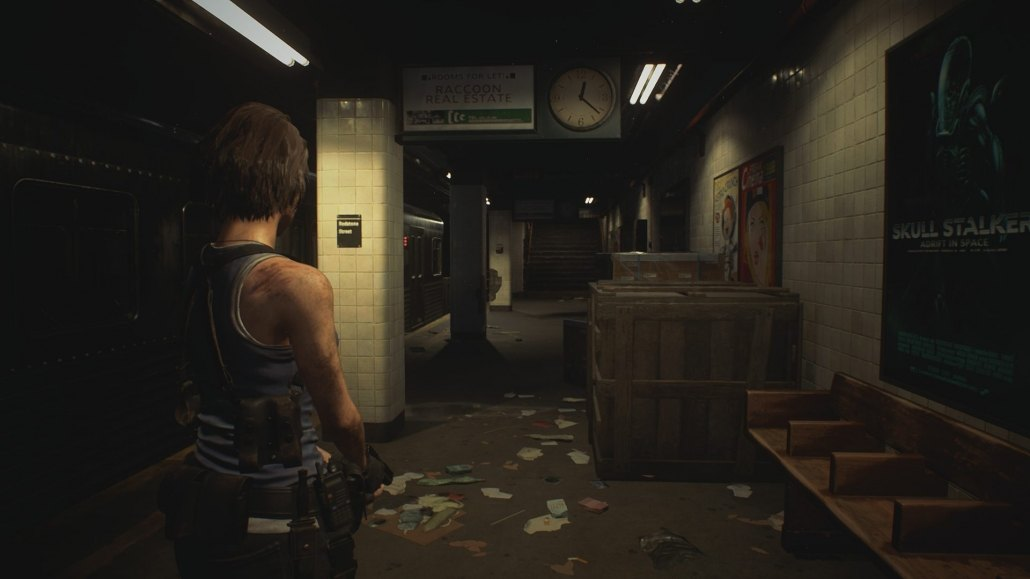 RE3 Demo Subway