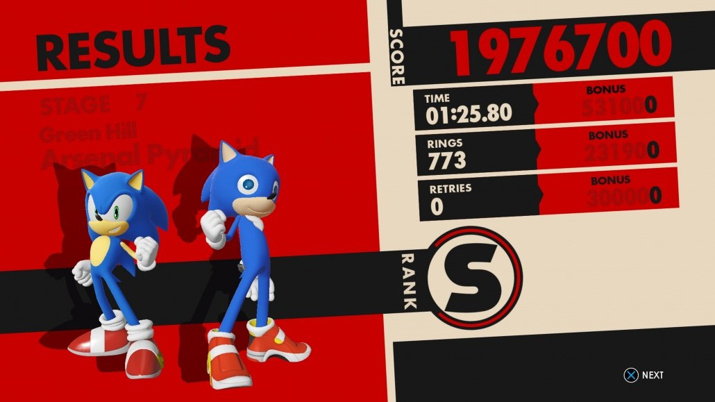 Sonic Forces 99