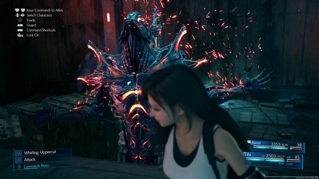 FFVII Remake Hard Mode Boss Guide 63