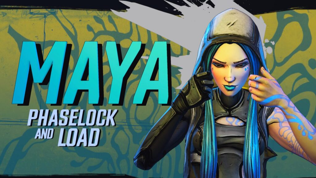 Maya in Borderlands 3