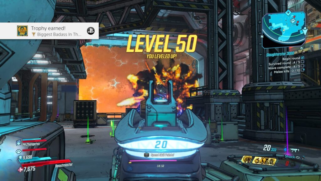 Borderlands 3 Level 50