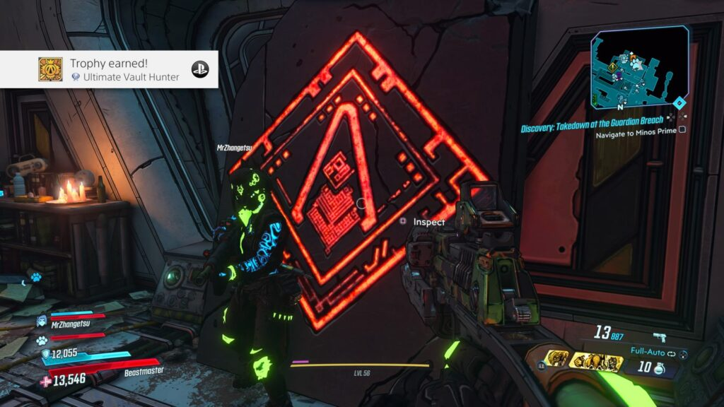 Borderlands 3 Platinum Trophy