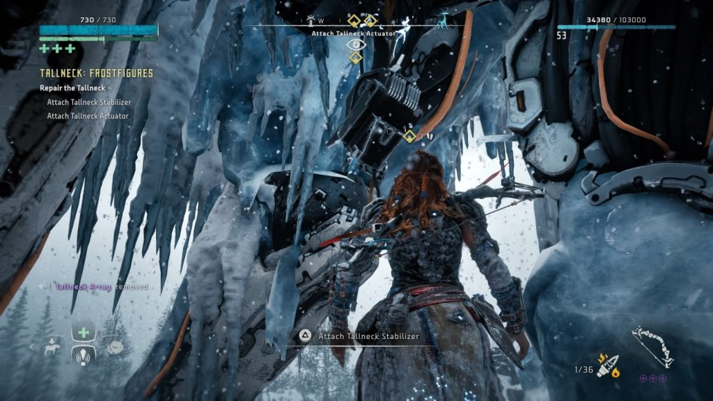 Frozen Wilds Tallneck Repair