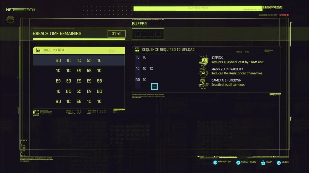 Cyberpunk 2077 Trophy Guide Christmas Tree Attack Hacking Interface