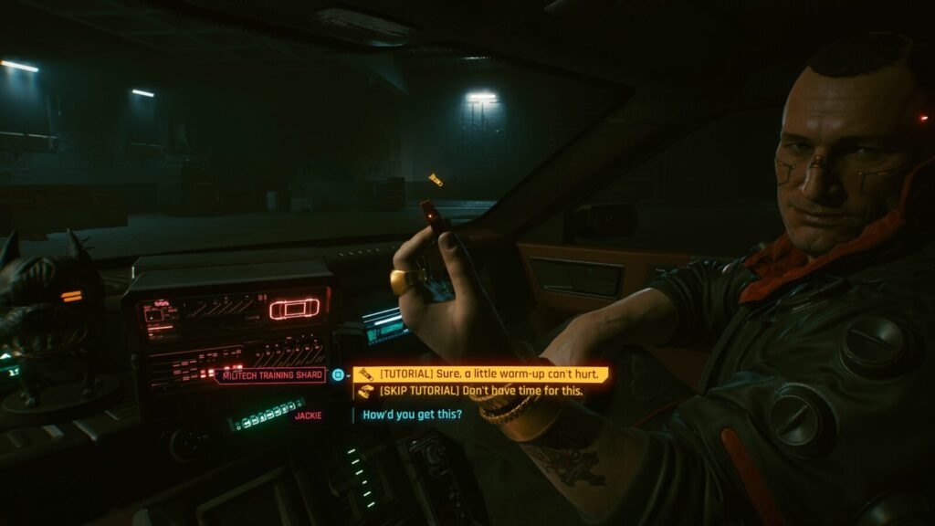Cyberpunk 2077 Trophy Guide Must be Rats VR Training Shard