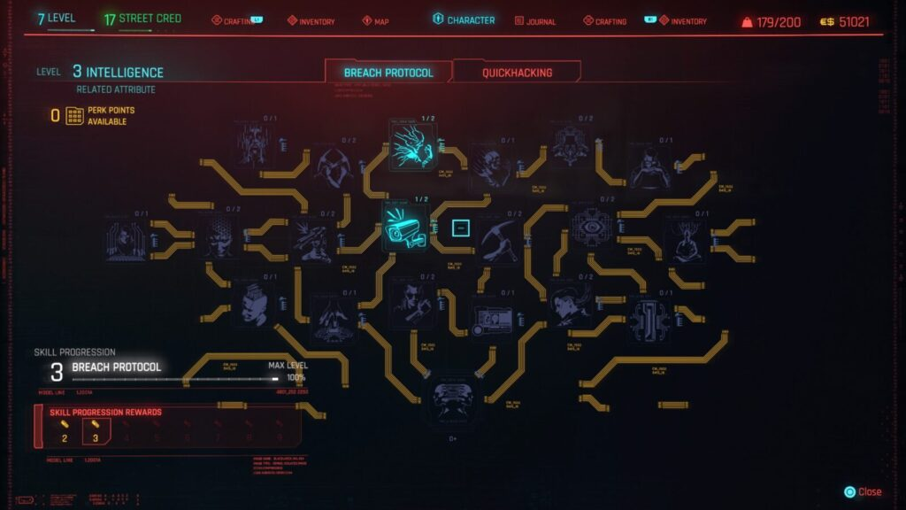 Cyberpunk 2077 Trophy Guide Skill Tree Christmas Tree Attack
