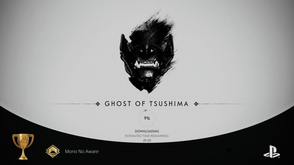 Ghost of Tsushima PS5 Trophy Auto-pop