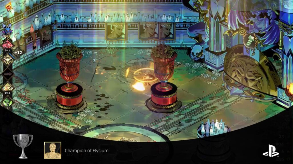 Champion of Elysium trophy in Hades