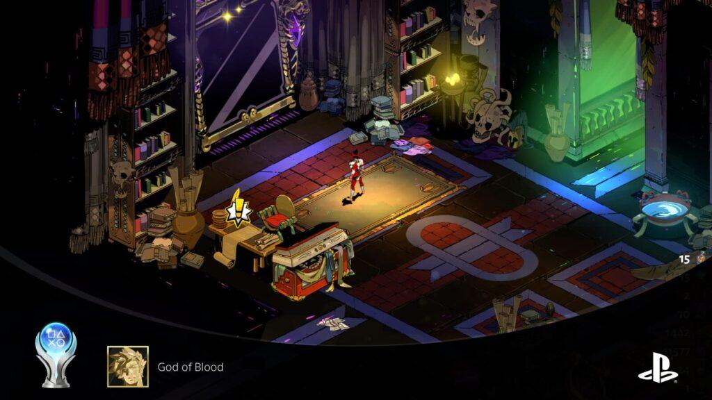 Hades God of Blood Platinum Trophy